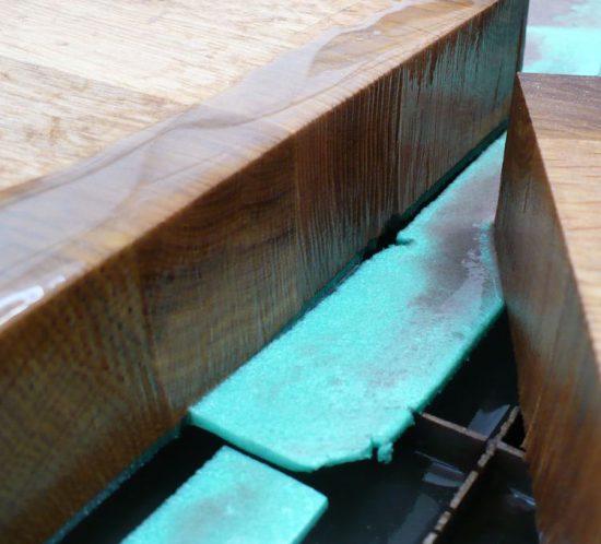 cięcie wodą drewna 3