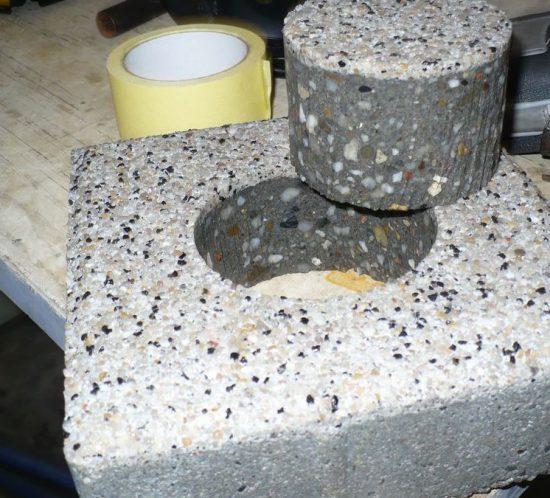 Wieluń - cięcie wodą kamienia, betonu, konglomeratów